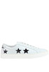 Leather sneakers with stars The Editor