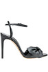 Bow leather sandals Casadei