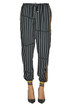 Striped viscose trousers Alysi