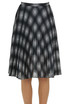 Pleated crepe skirt Michael Michael Kors
