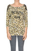 Animal print top Patrizia Pepe Jeans