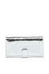 Metallic effect leather wallet Orciani
