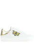 Cut-out leather sneakers Pinko