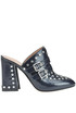 Studded leather mules Twin-set  Simona Barbieri