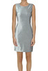 Lamè cloth sheath dress Love Moschino