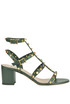 Rockstud Rolling leather sandals Valentino