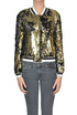 Sequined bomber jacket Shirtaporter