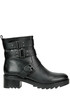 Leather biker boots Bibi Lou