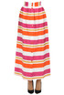 Striped long skirt Twin Set Beachwear