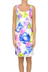 Printed sheath dress Moschino Boutique