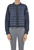 Fleece inserts down jacket Moncler