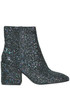 Erika glittered leather ankle-boots Ash