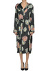 Printed silk dress MSGM