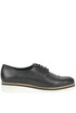 Leather brogues style lace-ups Manas
