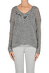 Embroidered mohair-blend pullover Twin-set  Simona Barbieri