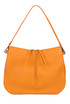 Textured leather hobo bag Jil Sander