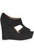 Knute suede wedge shoes Jeffrey Campbell