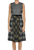 Checked print wool-cloth dress Etro