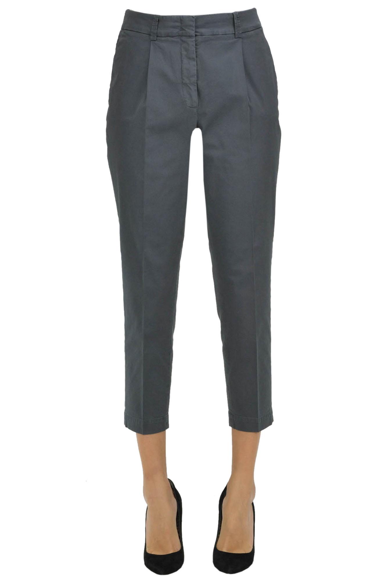 Image of Pantaloni Capri in cotone