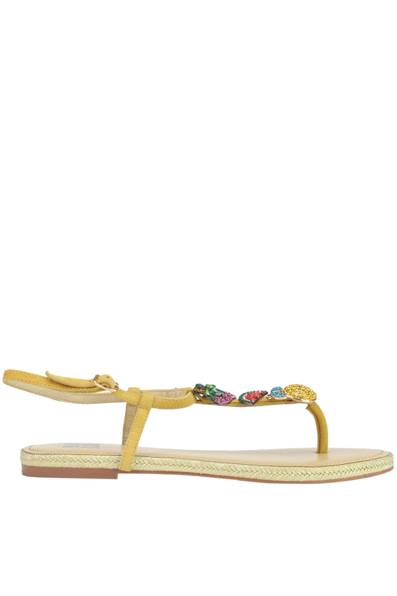 Image of Sandali infradito in suede